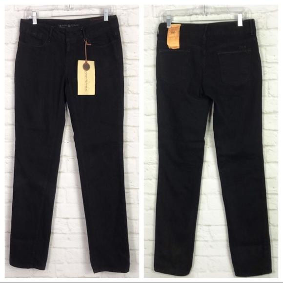 Banana Republic Denim - Banana Republic Premium Stretch Straight Jeans NWT